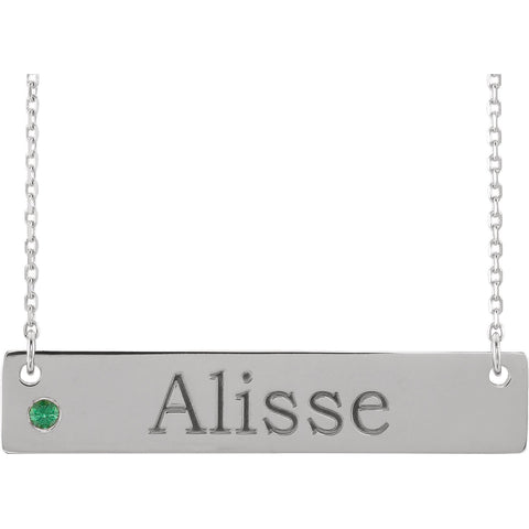 Sterling Silver Family Necklace Mounting