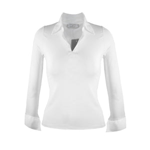 Sarah Shirt-Collar and Cuff - White