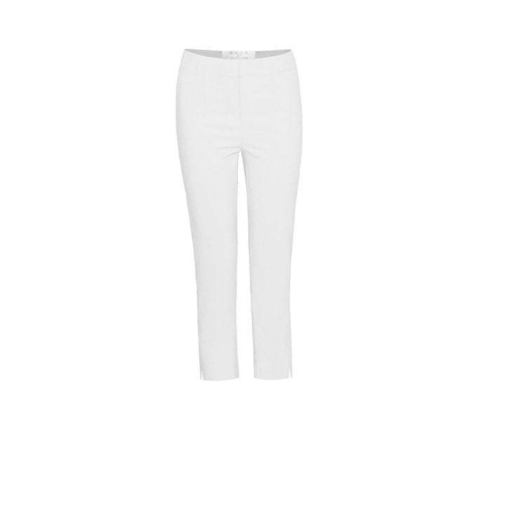72101/ SHORT CAPRI d.e.c.k by decollage secret slimming trousers- WHITE