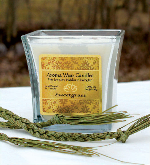 Sweetgrass Candle