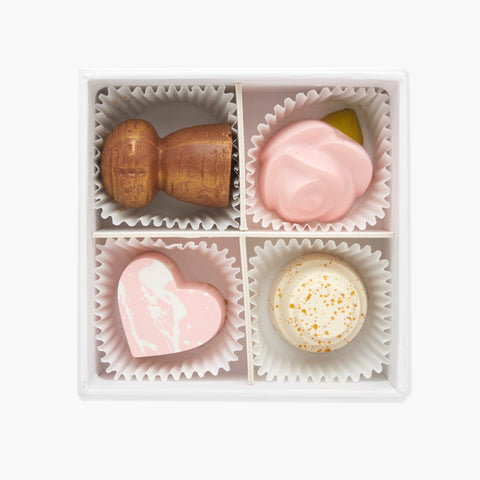 Maggie Louise Confections Let's Toast Chocolate Box