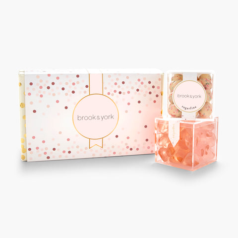 brook & york + Sugarfina 2 Piece Bento Box