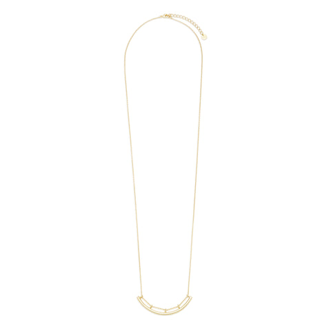 Astor Long Bar Necklace