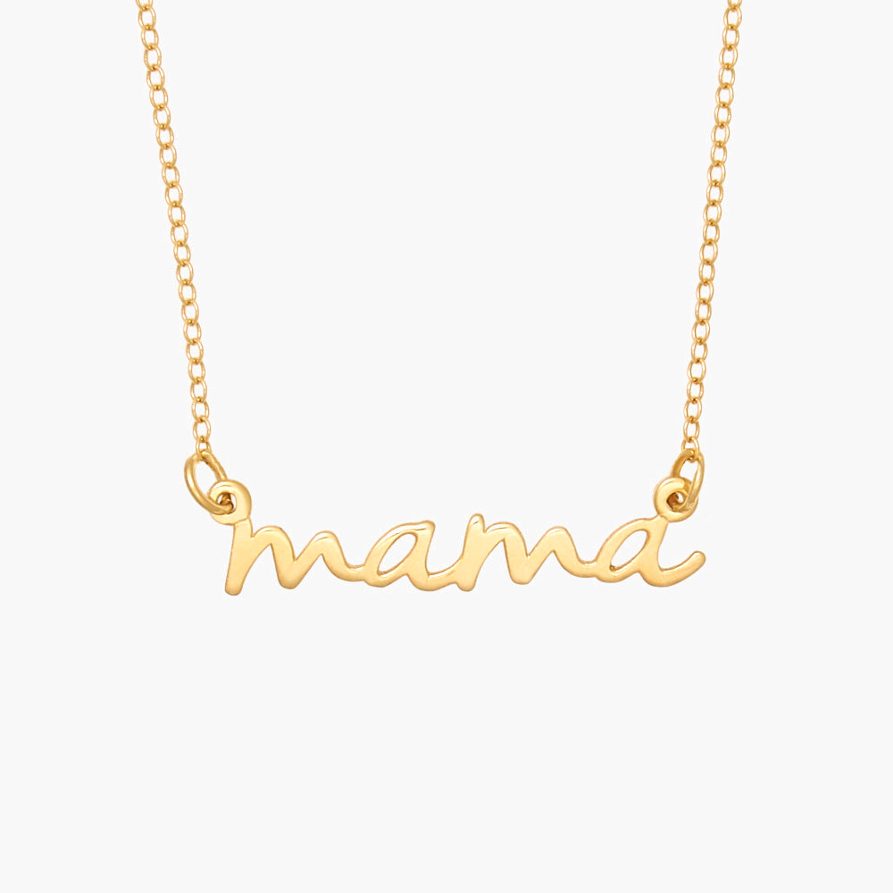 Nella Mama Nameplate Necklace