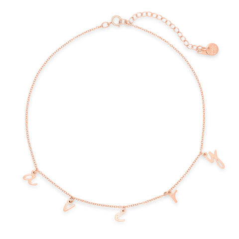 Nella Spaced Name Choker