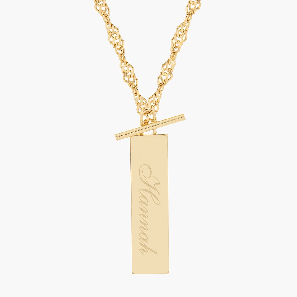 Stevie Toggle Necklace