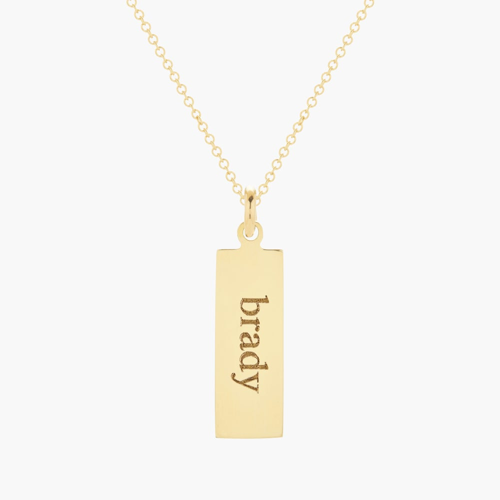 Addison 14K Name Pendant