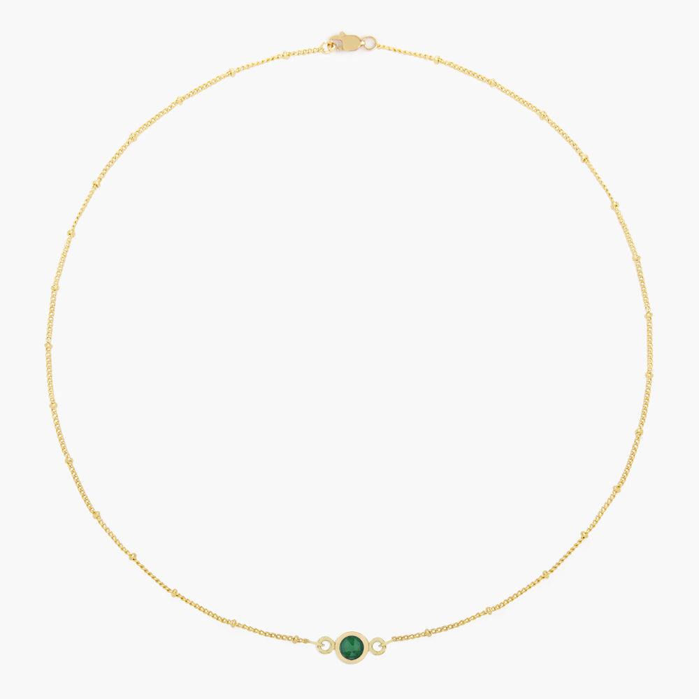 Jules Birthstone Necklace