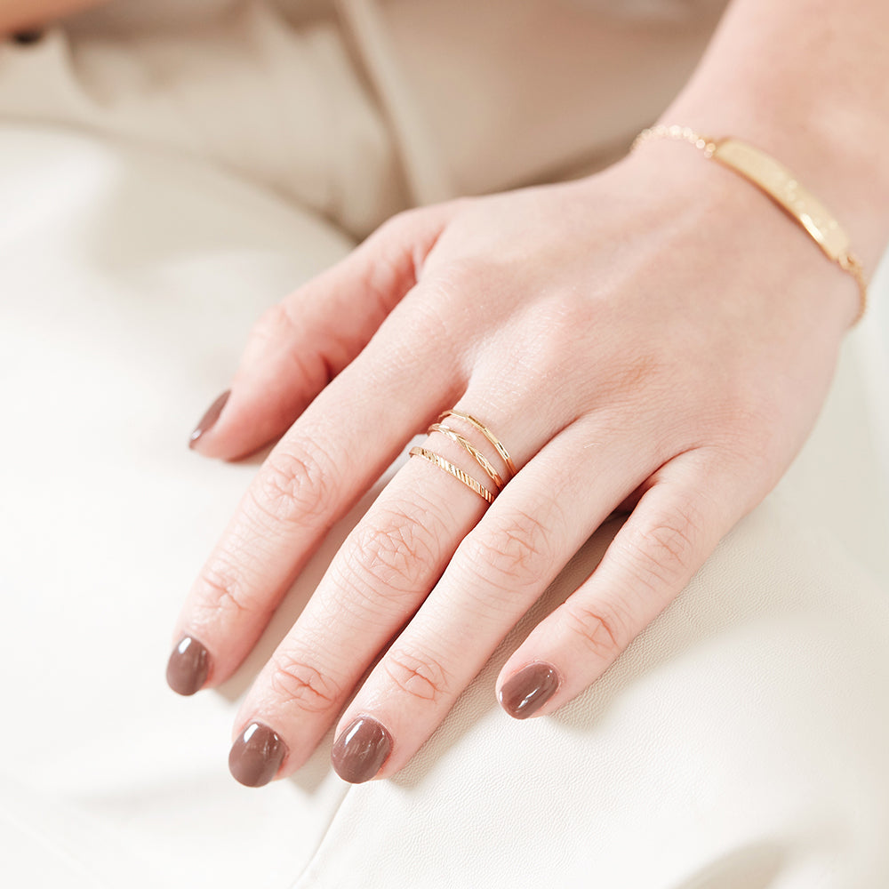 Ivey Extra Thin Ring Set