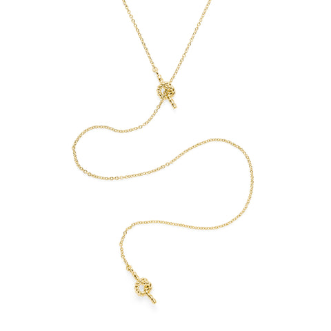 Amanda Lariat Necklace