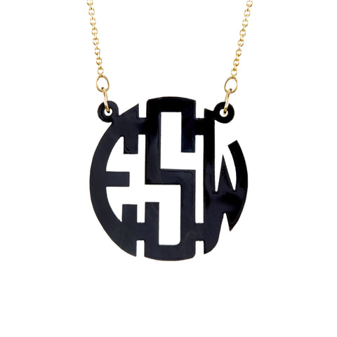 Brooklyn Block Acrylic Monogram
