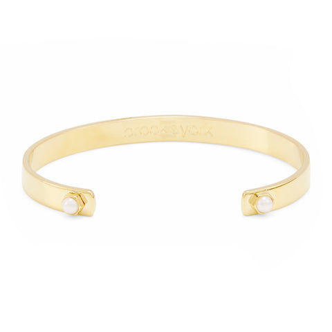 Ella Pearl Stackable Cuff