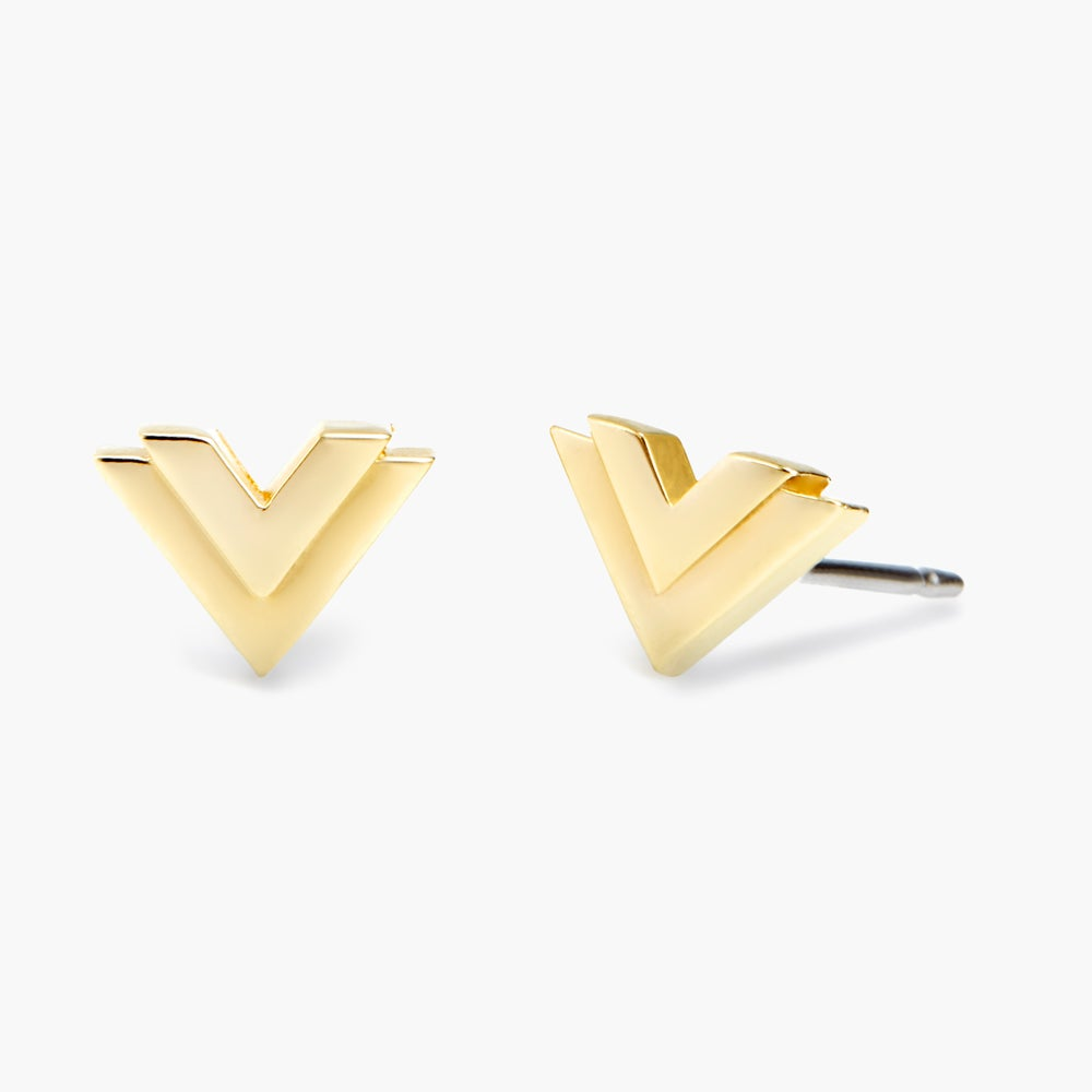 Mason V Earrings