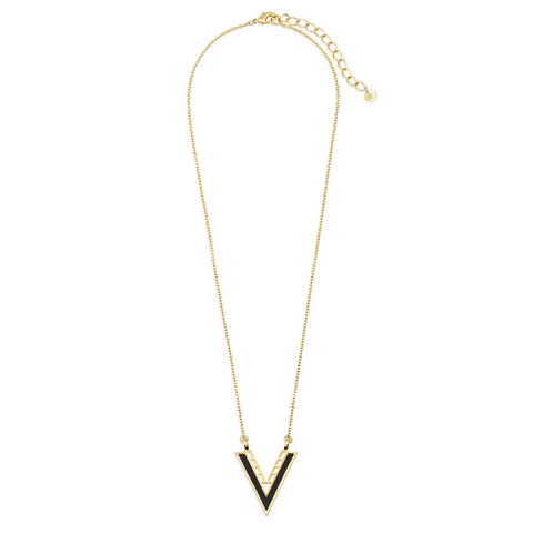 Varick Large V Necklace