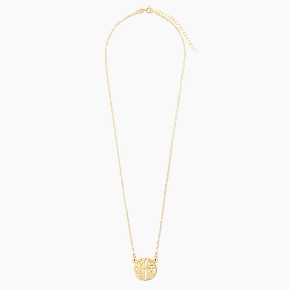 Fulton Classic Monogram Necklace