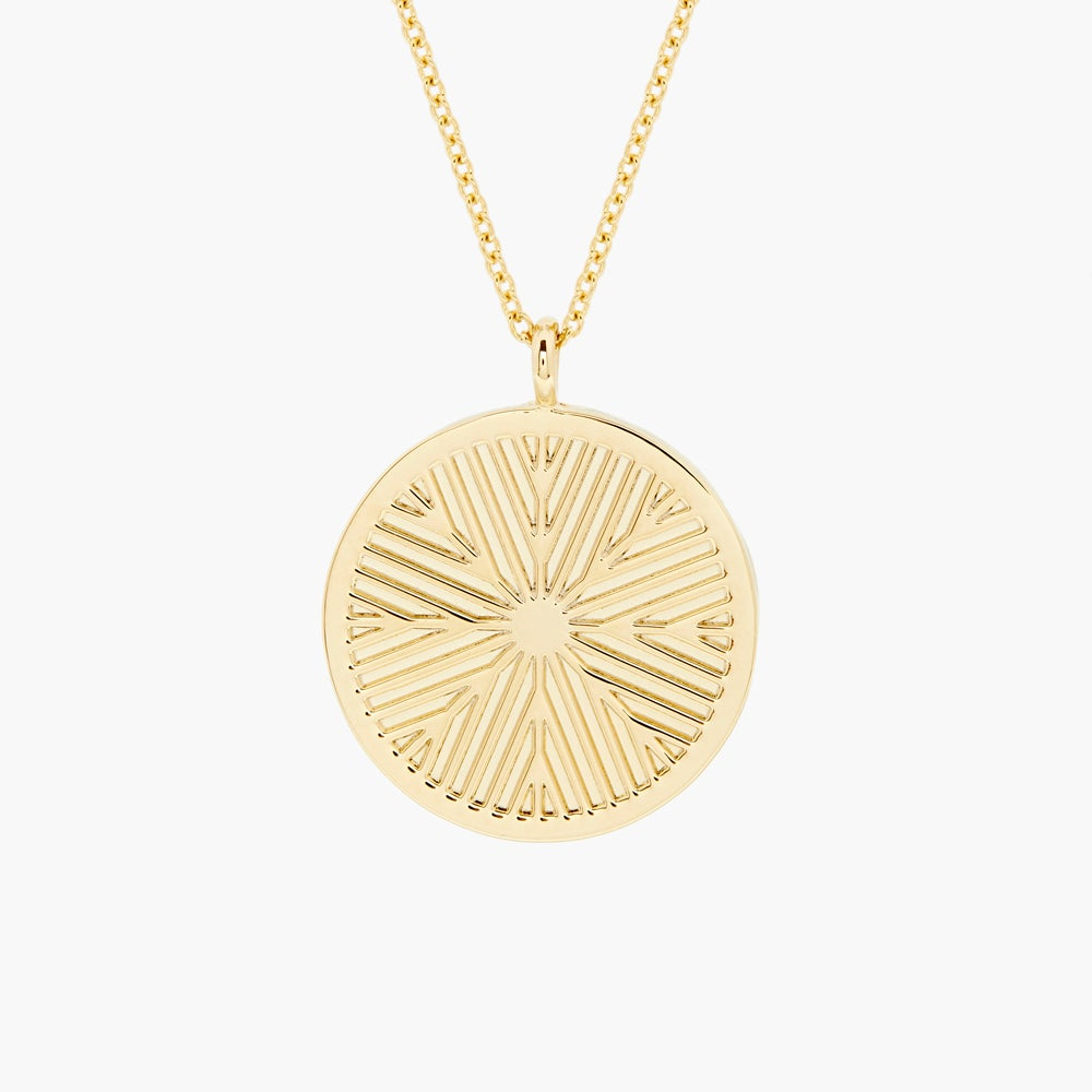 Lex Disc Long Pendant