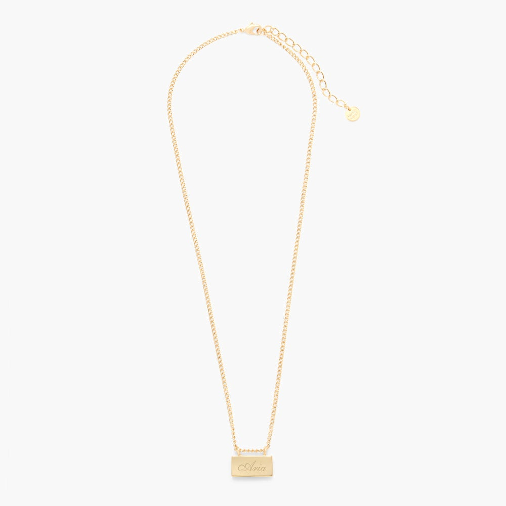 Petite Name Bar Necklace