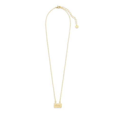 Charlie Name Bar Necklace