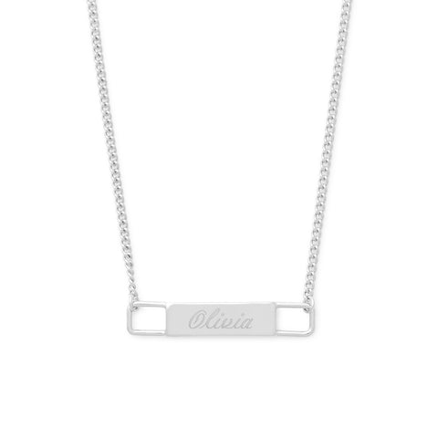 Harper Name Bar Necklace