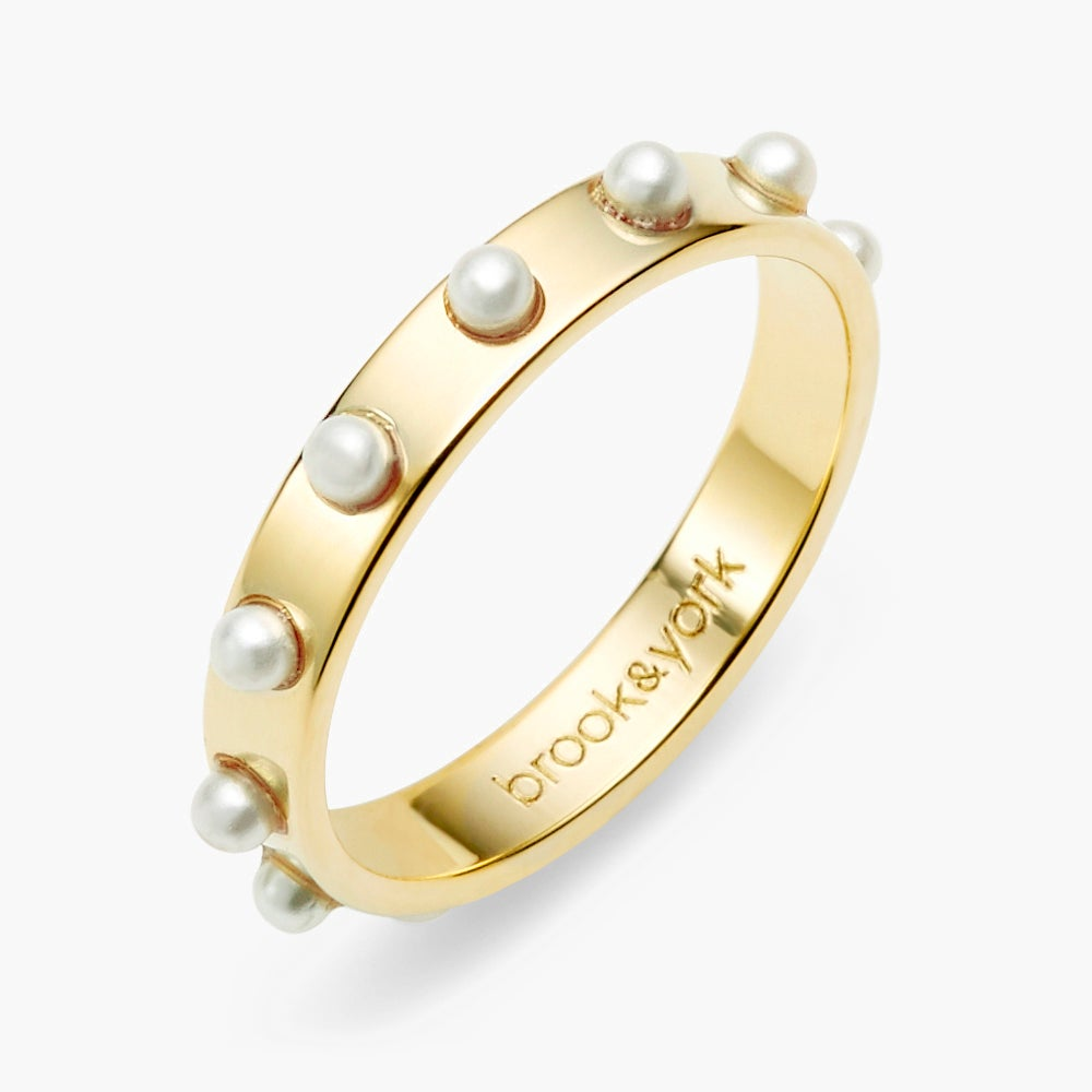 Holly Pearl Ring