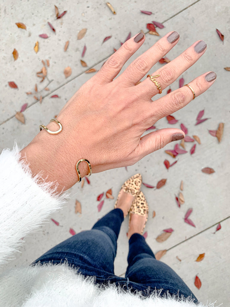 $influencer @cbstyled wearing Nella Rope Ring by @brookandyork