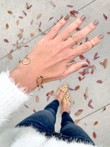 $influencer @cbstyled in Maren Extra Thin Fine Ring by @brookandyork