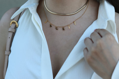 $influencer @chichappenedblog wearing Izzy Choker by @brookandyork