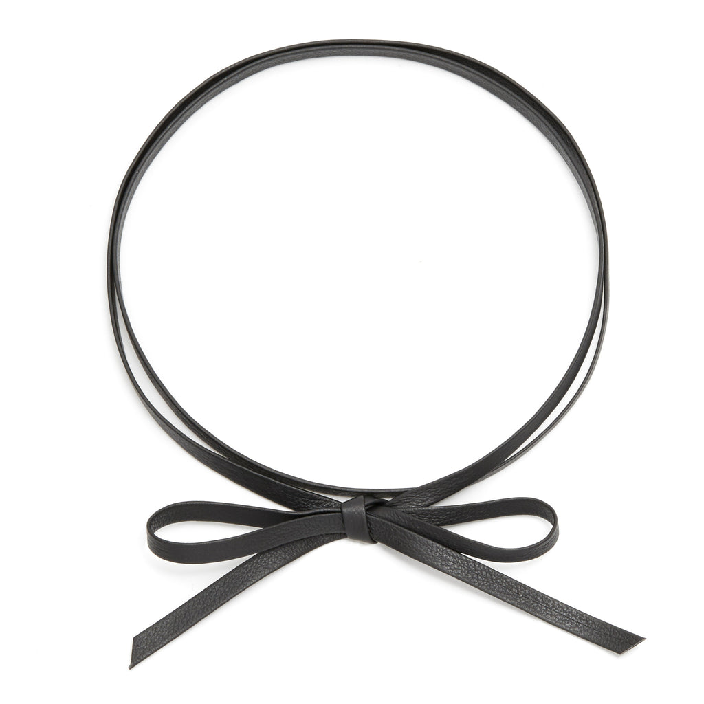 Dakota Leather Wrap Choker