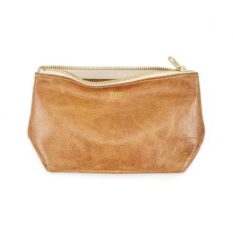 full camel leather gold