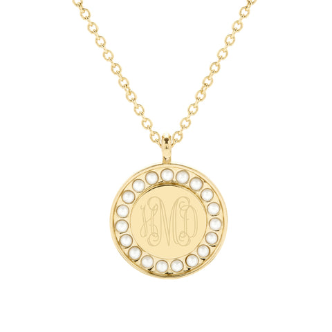 Holly Pearl Pendant