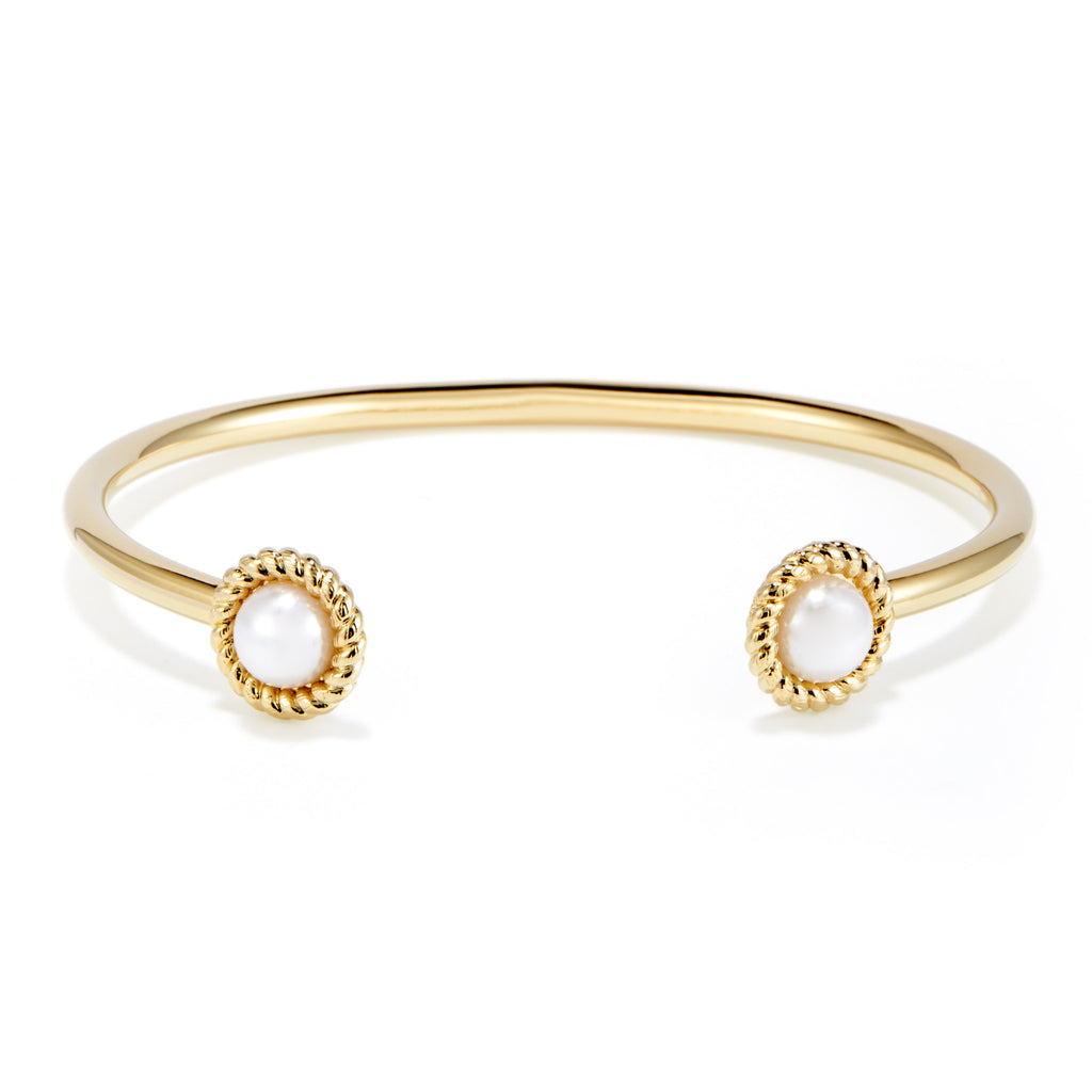 Kate Button Pearl Cuff