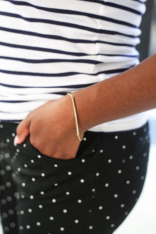 $influencer @kiim_xoxo_ in Cora Bar Bracelet by @brookandyork