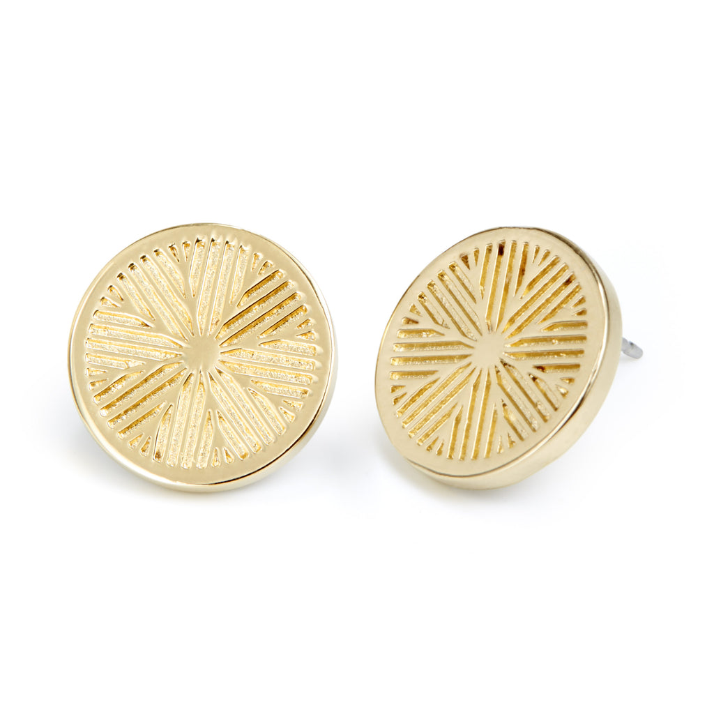 Lex Disc Earrings