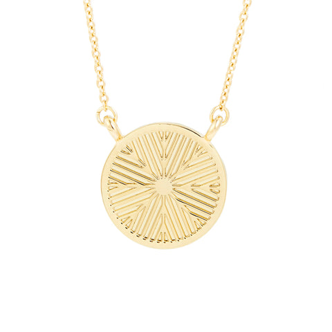 Lex Disc Necklace