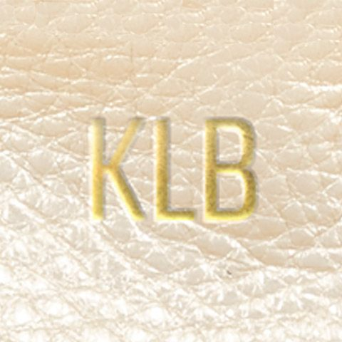 zoomed champagne leather gold