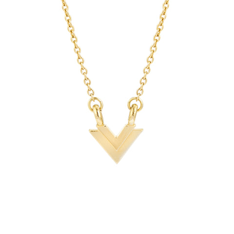 Mason Mini V Necklace