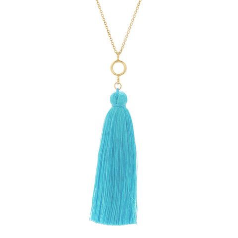 Nova Tassel Necklace
