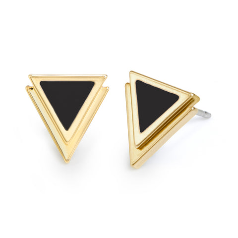 Sloan Petite Triangle Earrings