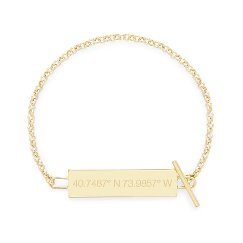 Stevie Coordinate Toggle Bracelet
