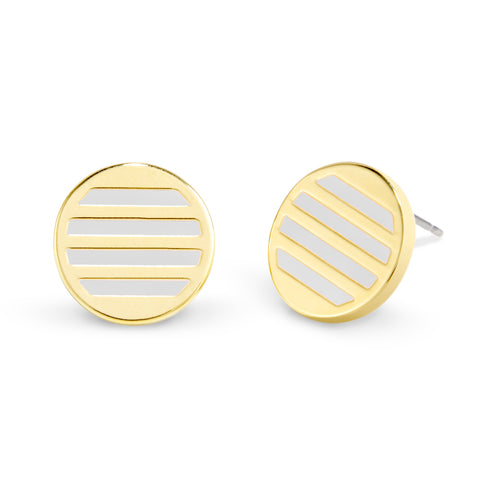 Westerly Enamel Stripe Earrings