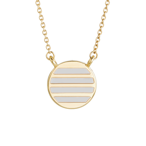 Westerly Enamel Stripe Necklace