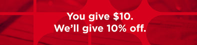 Krimson Cares: You Give ~ We Give