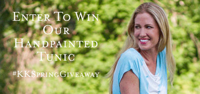 Instagram Giveaway : Heartbreaker Handpaint Tunic