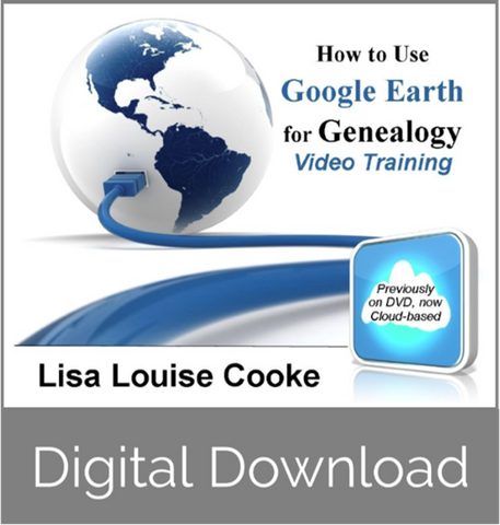 Google Earth for Genealogy: Video Series