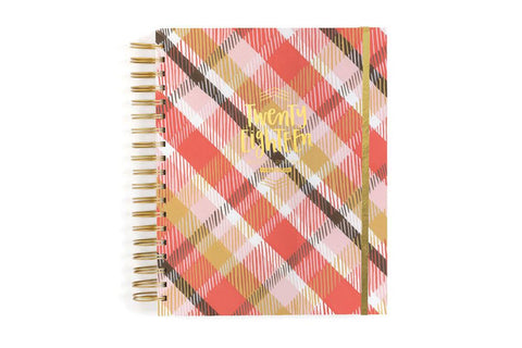 2018 Yearly Plaid Planner