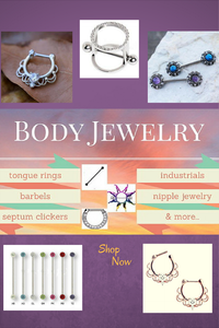 Body Jewelry - Nipple Rings - Septum Clickers - Industrials and More - Fashion Hut Jewelry