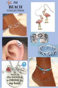 Summer Beach Jewelry - Anklets, Toe Rings and More - Fashion Hut Jewelry