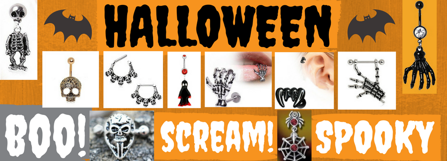 Halloween Body Jewelry - Fashion Hut Jewelry