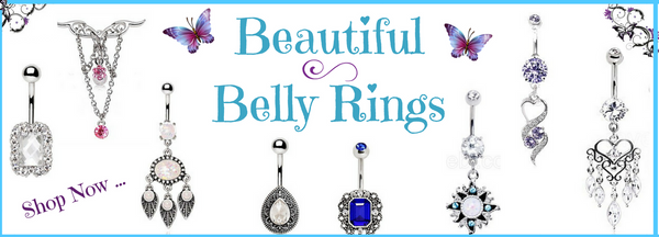 Navel Piercing Jewelry - Belly Rings and Navel Rings