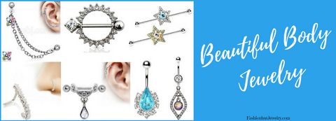 Beautiful Body Jewelry covering everything for your Body Piercing needs. Nipple Jewelry / Nose Rings / Septum Clickers / Industrials and More...